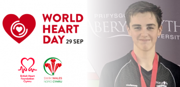BHF CYMRU AND SWIM WALES ENCOURAGE EVERYONE TO GET INTO WATER ON WORLD HEART DAY